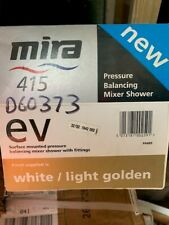 Mira combiforce 415 gold surface mounted shower