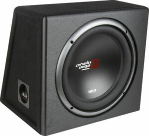 """Cerwin-Vega XED Series Single 10"""" Car Subwoofer Factory-Tuned Vented Enclosure"""