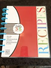 NEW Create 365 The Happy Planner recipe Organizer planner