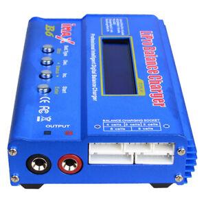 iMAX B6 Mini Lipo Balance Ladegerät Entlader für RC Batterieteile Blau
