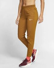 Nike Women's Small Flex Swift Running Brown Joggers Pants Trousers BV2781-857