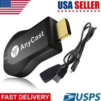 Wireless AnyCast WiFi Display Dongle 1080P HDMI TV Stick DLNA Airplay Miracast