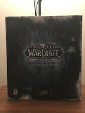 World Of Warcraft Wrath Of The Linch King Collectors Edition!! Used!