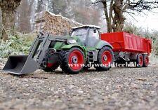 RC Farmer Traktor 5-Kanal Funkgesteuert mit steuerbaren Kippanhänger Trecker XXL