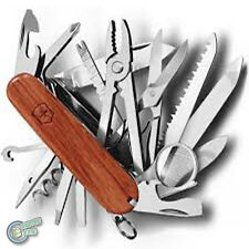 1.6791.63 35773 VICTORINOX Swiss Army Knife SwissChamp Champ Hardwood 1.6795