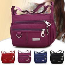 Women Large Multi Pocket Multi-Function Waterproof Cross Body Handbag Shoulder B