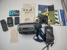 Sony Handycam Ccd-Tr86 8mm Analog Camcorder-Tested/Working- Excellent condition