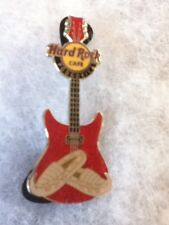 Hard Rock Cafe Pin Podgorica Opanaci Shoe on Red Guitar 2015