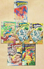 Superman: The Man of Steel Doomsday #1, 17, 18, 18 NEWSTAND & 19