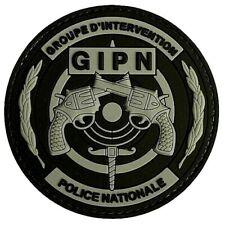 "Patch ""3D"" GIPN - Ecusson insigne des groupes d'intervention Police nationale"
