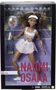 Barbie Role Models Naomi Osaka Doll Wearing Tennis Dress With Racket *PRE-ORDER*