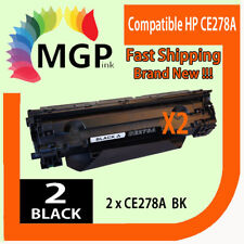 2 x CE278A 78A Compatible Toner Cartridge for HP LaserJet  M1536 M1536dnf MFP