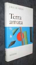 J.M.G. LE CLéZIO, Terra amata - Rizzoli, I ed. 1969