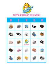 Zhu Zhu Pets Birthday Party Game & Activity Bingo