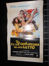 ★ Manifesto FANTASMA NEL MIO LETTO LILLI CARATI Locandina Poster Playbill ★