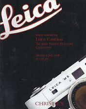CHRISTIE'S LEICA CAMERAS LENSES ACCESSORIES Duigenan Coll Auction Catalog 2006