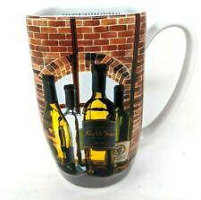 Disney Epcot International Food & Wine Festival 3D Coffee Mug Cup Wine Bottles