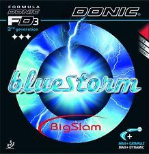 Donic Bluestorm Big Slam Revestimiento de Ping Pong Belag Burl Interior