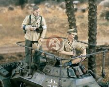 Verlinden 1/35 German DAK Afrika Korps Tanker and Medic WWII (2 Figures) 1973