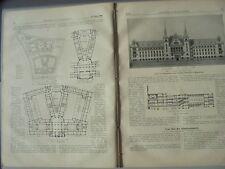 1900 11 Magdeburg Amtsgericht Simplontunnel Eisenach Burschenschaftsdenkmal