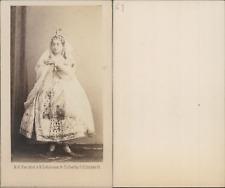 Lehmann, Berlin, Pauline Lucca, soprano Vintage CDV albumen carte de visite.Pa