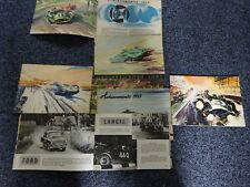 Classic car and motorcycle achievements 1952/53/54/55/56/57  with 50 pages ea