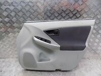 TOYOTA PRIUS 2009 2010 2011 2012 2013 O/S/F DRIVER SIDE DOOR CARD