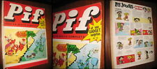 Pif Gadget Vintage old 13 May 1969 and The Archive of the Year.