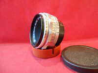 Objektiv Lens Tessar 4,5 /40 mm Carl Zeiss Jena Zustand gut für Praktina