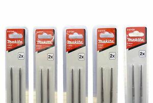 Makita Kettenfeile Rundfeile 4mm 4,5mm 4,8mm 5,2mm 5,5mm für 1/4, 3/8, 325 404 K