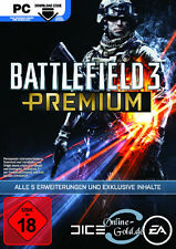 Battlefield 3 Premium Service Code - EA Origin Key - BF3 Add-On DLC PC [DE/EU]