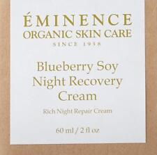 Eminence Organics Blueberry Soy Night Recovery Cream - 60 ml / 2 oz