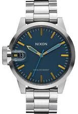 Nixon Chronicle 44 Watch (Navy / Brass)