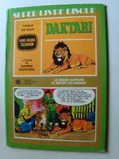 """DAKTARI 7"""" EP SUPER LIVRE-DISQUE TELEVISION BD JUNIOR PRODUCTIONS MUSIQUE 5855"""
