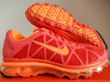 NIKE AIR MAX + 2011 MAX ORANGE-TOTAL ORANGE SZ 10 [429889-880]