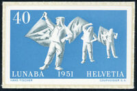 SCHWEIZ 1951, MiNr. 560, Marke aus Block 14, tadellos postfrisch, Mi. 200,-
