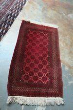 New listing Antique Afghan Tribal Handmade Rug 2'5 x 4' Red