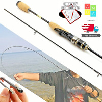 NEW 1.8M Ultra Light Spinning Fishing Rod Lure Pole Carbon UL Power Bait Casting