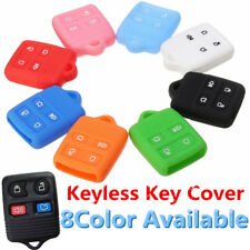 4 Button Silicone Remote Key Case Shell Cover For Ford Edge Explorer Mercury