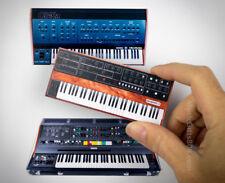 Oberheim OB-Xa, Prophet-5, Yamaha CS-80 vintage analog synthesizer 2D MAGNET SET