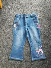 """*Next"""" Girls Cropped Jeans Age 10"""