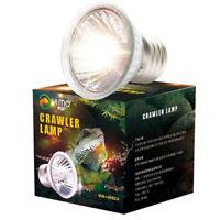 E27 25-75W Turtle Sun Back Light Bulb UVB Lamp Aquarium Crawlers Lamp US Plug