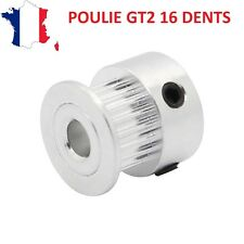 Poulie GT2 16 dents - GT2 pulley - Axe de 5mm -  Prusa I3 , Anet A8, cnc, etc