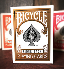 Bicycle Gold Playing Cards Deck by US Playing Cards and Murphy's Magic
