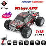 WLtoys A979 2.4GHz 1/18 4WD 45KM/h Brushed Electric RTR Off-road Buggy RC Car C@