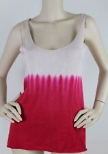 Cotton Blend Casual Sleeveless Knit Tops & Blouses for Women