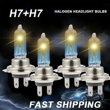 H7+ H7 Combo 110W 6000K Xenon White Low Beam Super Bright Halogen Headlight Bulb