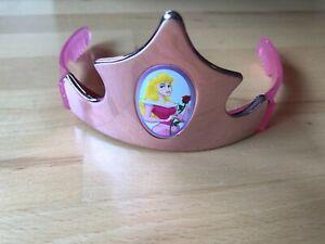 Disney Princessin Aurora Krone Diadem Rosa MFG von 2004 Mädchen Kopf/HaarSchmuck