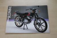 170872) Yamaha RD 50 M Prospekt 01/1980