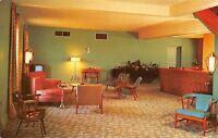 Athens Georgia~University Hotel Court~1950s Postcard